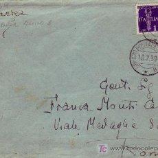 Sellos: GUERRA CIVIL ESPAÑOLA TROPAS ITALIANAS EN ESPAÑA CARTA CIRCULADA A ROMA 1939. BONITA Y RARA ASI.. Lote 24530862