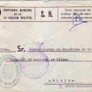 Sellos: FRANQUICIA ZONA DE RECLUTAMIENTO Y MOVILIZACION Nº 92 EN CARTA CIRCULADA 1976 MALAGA INTERIOR.. Lote 7547868