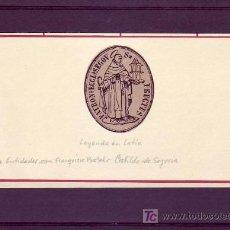 Sellos: MARCA DE ENTIDADES CON FRANQUICIA POSTAL: CABILDO DE SEGOVIA (LEYENDA EN LATIN). RARA.. Lote 22339068