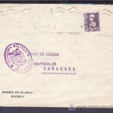 Sellos: .094 SOBRE MADRID A ZARAGOZA, FRANQUEO 858, CENSURA M-1-2 VIOLETA (VARIEDAD CENSUIRA) . Lote 10731266