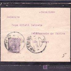 Sellos: .044 SOBRE PALMA MALLORCA A LAS PALMAS, FRANQUEO 290 FECHADOR 1/10/1920 DE PALMA . Lote 10696236