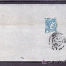 Sellos: .081 CARTA MADRID A SEVILLA, FRANQUEO 164 AL DORSO COMO CIERRE MATASELLO DESTINO, . Lote 11511682