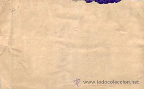 Sellos: ALFONSO XIII PELON EN CARTULINA CIRCULADA 1905 CORREO CERTIFICADO MADRID A ALEMANIA. LLEGADA. - Foto 2 - 23026175