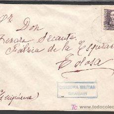 Sellos: .316 SOBRE BEASAIN A TOLOSA (GUPUZCOA), FRANQUEO 858, CENSURA B-29-2 EN AZUL. Lote 11258906