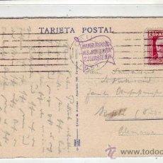Sellos: CEUTA - ALEMANIA 1934: BONITA TARJETA CIRCULADA CON MARCA BARCO M.S. MONTE ROSA HAMBURG SÜD. RARA. Lote 22690831