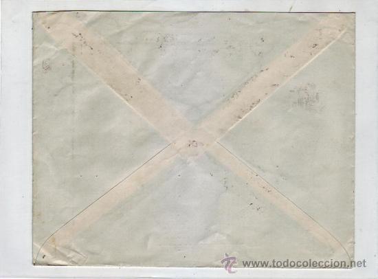 Sellos: ALFONSO XIII TIPO VAQUER DE PERFIL EN CARTA COMERCIAL (PEDRO RANZ) CIRCULADA 1931 MADRID-ALEMANIA. - Foto 2 - 9561850
