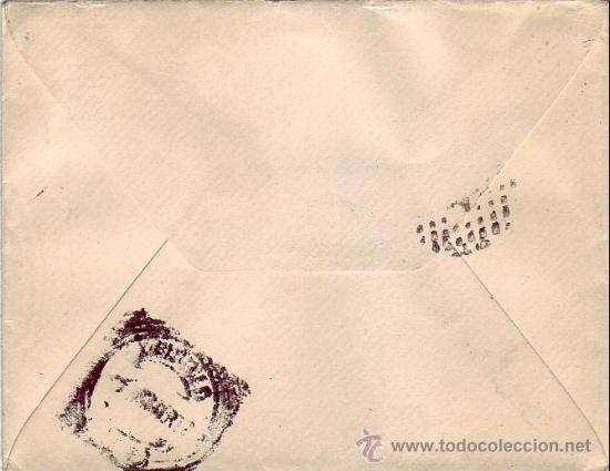 Sellos: ALFONSO XIII CADETE EN CARTA CIRCULADA 1902 DE TALAVERA DE LA REINA (TOLEDO) A MADRID. LLEGADA. MPM. - Foto 2 - 9700774