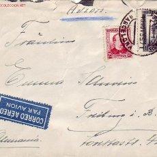 Sellos: REPUBLICA ESPAÑOLA CARTA CIRCULADA 1935 POR AVION DE BARCELONA A FRIBURGO (ALEMANIA).. Lote 11511249