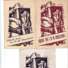 Sellos: JUEGO DE TARJETAS CIRCULADAS EN 1951 SOLICITANDO A LA O.N.U. LA LIBERTAD DE 34 ESPAÑOLES. MUY RARAS.. Lote 23113503