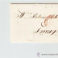 Sellos: ENVUELTA DE CARTA TARRAGONA 1845. Lote 24670982