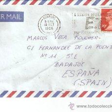 Sellos: SOBRE REINO UNIDO.MATASELLOS-A STEVEN SPIELBERG FILM.E.T. THE EXTRATERRESTRIAL-1988. Lote 26452928