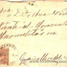 Sellos: SOBRE CIRCULADO MASNOU - GRANOLLERS Nº 3. Lote 12673349