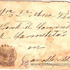 Sellos: SOBRE CIRCULADO MASNOU - GRANOLLERS Nº 4. Lote 12673359
