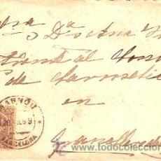 Sellos: SOBRE CIRCULADO MASNOU - GRANOLLERS Nº 5. Lote 12673423