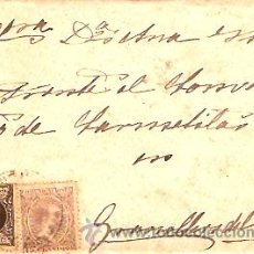Sellos: SOBRE CIRCULADO MASNOU - GRANOLLERS Nº 7. Lote 12673460