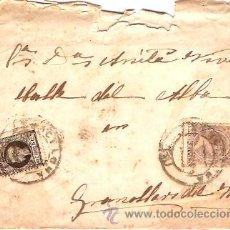 Sellos: SOBRE CIRCULADO BARCELONA - GRANOLLERS Nº 10. Lote 12673499