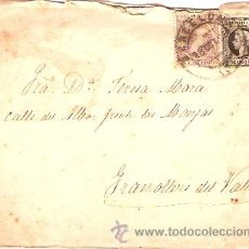 Sellos: SOBRE CIRCULADO BARCELONA - GRANOLLERS Nº 11. Lote 12673510