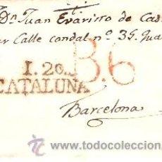 Sellos: SOBRE CARTA CIRCULADO IGUALADA BARCELONA . Lote 12673525