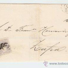 Sellos: ENVUELTA DE CARTA ZAFRA 1871. Lote 27435515