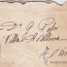 Sellos: MARRUECOS ESPAÑOL (EDIFIL 60) EN CARTA CIRCULADA 1919 DE TETUAN A TANGER. LLEGADA Y CARTA MANUSCRITA. Lote 27134642