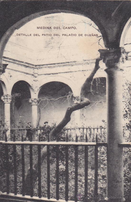 Sellos: ESTACION MEDINA DEL CAMPO VALLADOLID: RARO MATASELLOS EN TARJETA CIRCULADA 1913 A LISBOA (PORTUGAL) - Foto 2 - 26226802