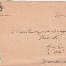 Sellos: INMEJORABLE ESTACION INVERNAL VALENCIA PLAYA MEDITERRANEA MATASELLOS RODILLO EN FRONTAL CARTA. MPM.. Lote 15646931