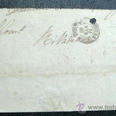Sellos: ESPAÑA (1866) FRONTAL DE CARTA DE VIVERO A RIBADEO. Lote 26475558