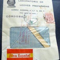 Sellos: ESPAÑA GUERRA CIVIL CESURA DE CÓRDOBA. . Lote 26475560