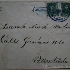 Sellos: ESPAÑA GUERRA CIVIL SOBRE CENSURA MILITAR DIRIGIDO A MONTEVIDEO URUGUAY . Lote 17742898