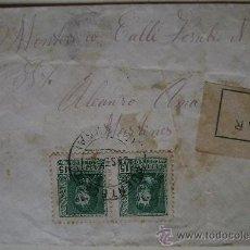 Sellos: ESPAÑA GUERRA CIVIL SOBRE CENSURA MILITAR LA CORUÑA DIRIGIDO A MONTEVIDEO URUGUAY . Lote 17743639