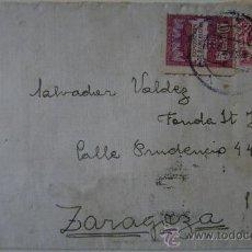 Sellos: SOBRE CIRCULADO CORREO DE ESPAÑA DIRIGIDO A ZARAGOZA. Lote 17798475