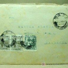 Sellos: CARTA CIRCULADA 1947, GUINEA ESPAÑOLA, BATA A VALENCIA. Lote 19292883