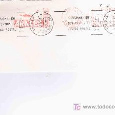 Sellos: FRANQUEO MECANICO PATO CAZA DE TOLOSA GUIPUZCOA PAPELERA ARAXES CON MAT RODILLO DE TOLOSA. Lote 20326364