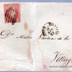 Sellos: CARTA DIRIGIDA DE CALDAS DE REY A VILLAGARCIA. . Lote 124210668