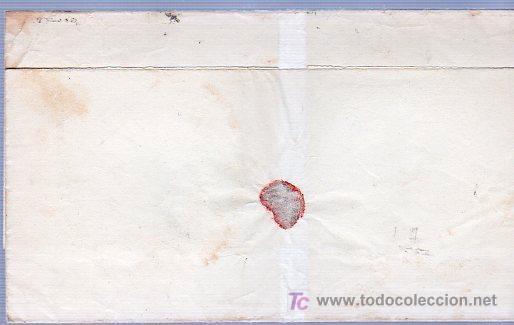 Sellos: CARTA DIRIGIDA DE CALDAS DE REY A VILLAGARCIA. - Foto 2 - 124210668