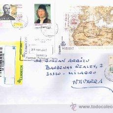 Selos: CANARIAS LAS PALMAS CC CERTIFICADA SELLOS HOJA SOCIEDAD GEOGRAFICA FRANCISCO JAVIER PINTURA MAT OP L. Lote 21518101