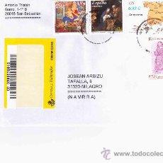 Selos: SAN SEBASTIAN CC CERTIFICADA SELLOS NAVIDAD MAPA EDADES DEL HOMBRE PINTURA CATEDRAL DE ZAMORA ESCULT. Lote 21675645