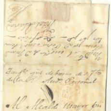 Sellos: 1846 PLICA JUDICIAL DE LA HABANA A MATANZAS 8 . Lote 27535711