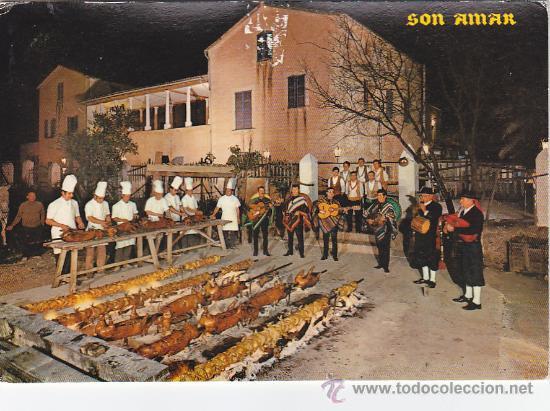 Sellos: MATASELLOS RODILLO (CONFIE SUS AHORROS..) TARJETA 1971 DE PUERTO SOLLER (BALEARES) A INGLATERRA. MPM - Foto 2 - 27295963