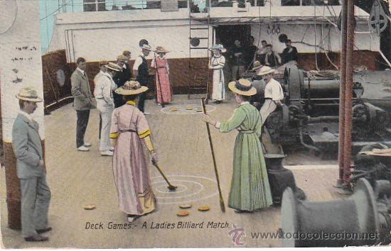 Sellos: PLYMOUTH PAQUEBOT: MATASELLOS EN TARJETA CIRCULADA EN 1912 DE LAS PALMAS (CANARIAS) A INGLATERRA. - Foto 2 - 27296021