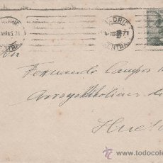 Sellos: SOBRE DE LA JEFATURA NACIONAL DE DEFENSA PASIVA DE MADRID. Lote 28323582