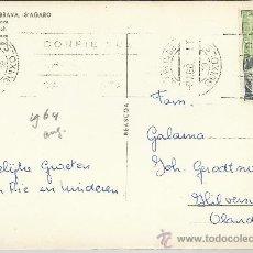 Sellos: SAN FELIU DE GUIXOLS GERONA TP CON SELLO DIA DEL SELLO 1964. Lote 28516174
