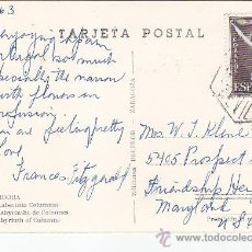 Sellos: MEZQUITA DE CORDOBA LABERINTO COLUMNAS BONITA POSTAL CIRCULADA MATASELLOS CORREO AEREO SEVILLA. MPM.. Lote 30183344