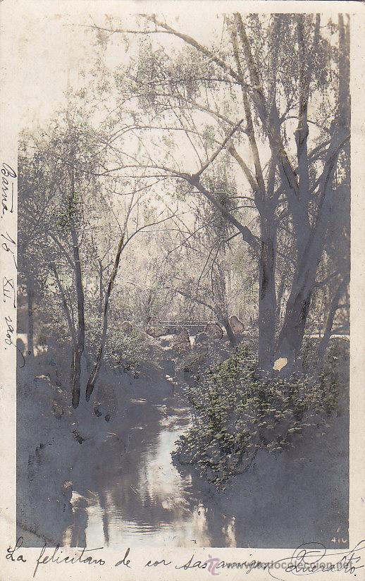 Sellos: 1906: BONITA Y ANTIGUA TARJETA POSTAL CIRCULADA DE BARCELONA A PRESENT. FRANQUEO ALFONSO XIII CADETE - Foto 2 - 31394655