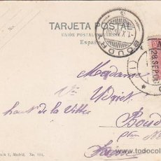 Sellos: 1906: IGLESIA SAN FRANCISCO GRANDE: 721 MADRID POSTAL: RARA TARJETA POSTAL CIRCULADA A SUIZA LLEGADA. Lote 31529929