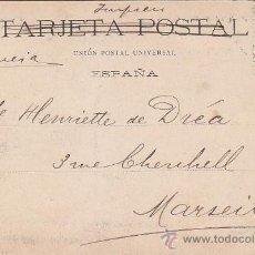 Sellos: 1903: IGLESIA DEL BUEN SUCESO MADRID: 48 LAURENT: BONITA TARJETA POSTAL CIRCULADA A MARSELLA FRANCIA. Lote 31530238