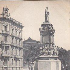 Sellos: 1903: MONUMENTO A GÜELL EN BARCELONA: BONITA Y RARA TARJETA POSTAL HAUSER Y MENET DIRIGIDA A MADRID.. Lote 31567811