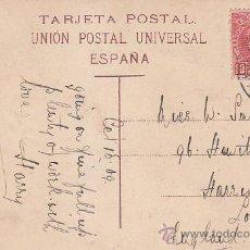 Sellos: 1909 LAS PALMAS GRAN CANARIA (CANARIAS) S. ROQUE RARA POSTAL CIRCULADA PUERTO DE LA ¿CRUZ? A LONDRES. Lote 31589083