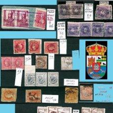 Sellos: AVILA Y PROV.-HISTORIA POSTAL, MATASELLOS, E.LOCALES Y T.P.-P.V.1.956 €. VER 6 PLANCHAS-CONDICIONES . Lote 31605102