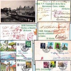Sellos: CANTABRIA.- HISTORIA POSTAL Y MATASELLOS. P.V. 4.557 €. VER 17 PLANCHAS Y CONDICIONES. Lote 31634747